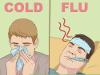 Грипп нужно уметь отличать от обычной простуды