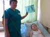 Медики извлекли из груди ребенка дверную ручку